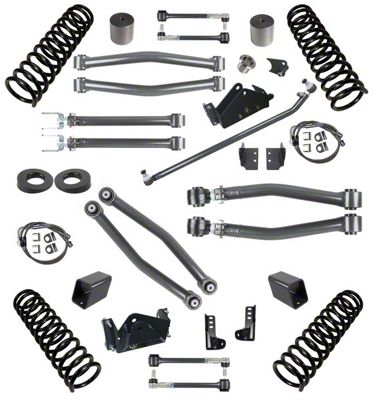 Synergy 3 in. Suspension Lift Kit for Right Hand Drive - Stage 3 (07-18 Jeep Wrangler JK 4 Door)