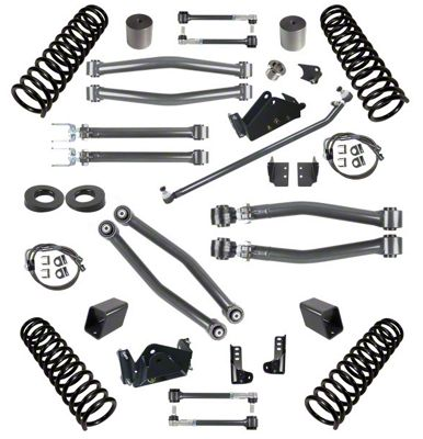 Synergy 3 in. Suspension Lift Kit for Right Hand Drive - Stage 3 (07-18 Jeep Wrangler JK 2 Door)