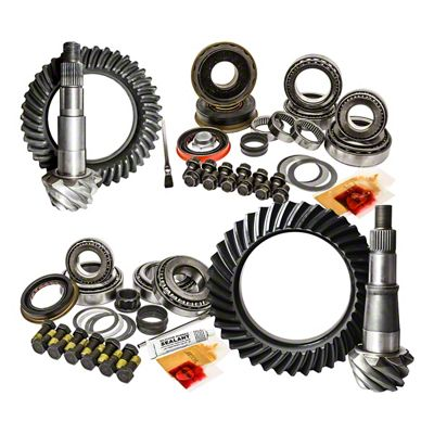 Nitro Gear & Axle Dana 30F/35R Ring Gear and Pinion Kit - 5.13 Gears (97-06 Jeep Wrangler TJ)