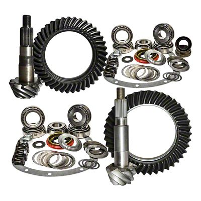 Nitro Gear & Axle Dana 30F/44R Ring Gear and Pinion Kit - 4.56 Gears (97-06 Jeep Wrangler TJ)