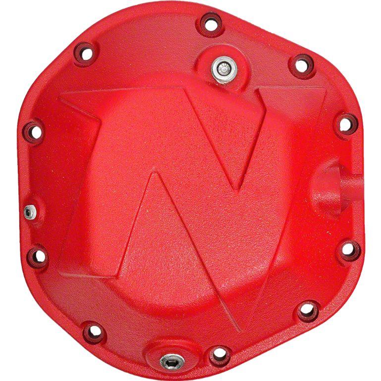 Nitro Gear & Axle X-Treme Dana 44 Differential Cover - Red (87-18 Jeep Wrangler YJ, TJ & JK)