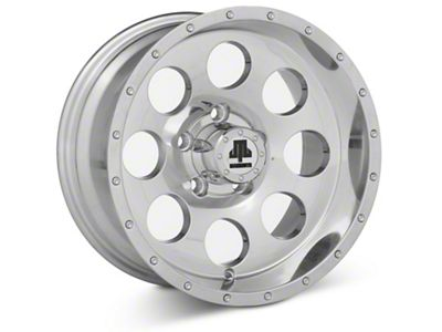 Mammoth 8 Beadlock Style Polished 15x8 Wheel & Mickey Thompson Baja MTZP3 31x10.50R15 Tire Kit (87-06 Jeep Wrangler YJ & TJ)