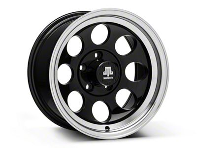 Mammoth 8 Black 15x8 Wheel & Mickey Thompson Baja MTZP3 31x10.50R15 Tire Kit (87-06 Jeep Wrangler YJ & TJ)