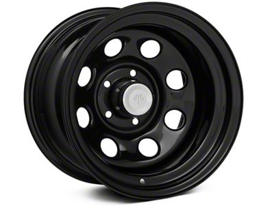 Mammoth 8 Black Steel 15x10 Wheel & Mickey Thompson Baja MTZP3 31x10.50R15 Tire Kit (87-06 Jeep Wrangler YJ & TJ)