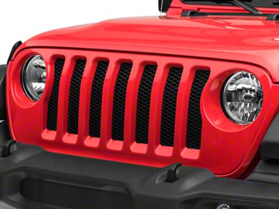 Mopar Replacement Grille Assembly (2018 Jeep Wrangler JL)