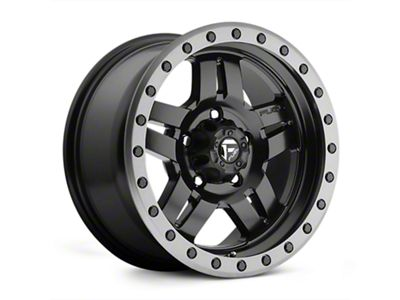 Fuel Wheels Anza Matte Black Wheel - 15x8 (07-18 Jeep Wrangler JK)