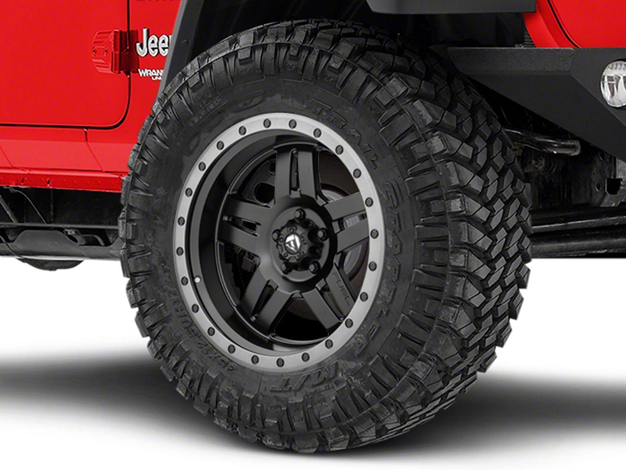 Fuel Wheels Anza Matte Black Wheel - 20x10 (18-19 Jeep Wrangler JL)