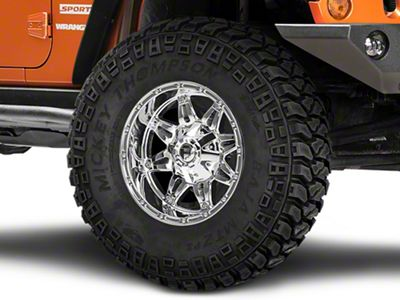 Fuel Wheels Hostage Chrome Wheel - 17x9 (07-18 Jeep Wrangler JK)