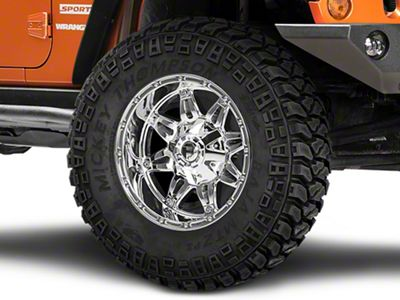 Fuel Wheels Hostage Chrome Wheel - 18x9 (07-18 Jeep Wrangler JK)