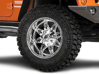 Fuel Wheels Hostage Chrome Wheel - 20x9 (07-18 Jeep Wrangler JK)