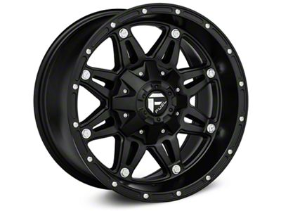 Fuel Wheels Hostage Matte Black Wheel - 22x10 (07-18 Jeep Wrangler JK)