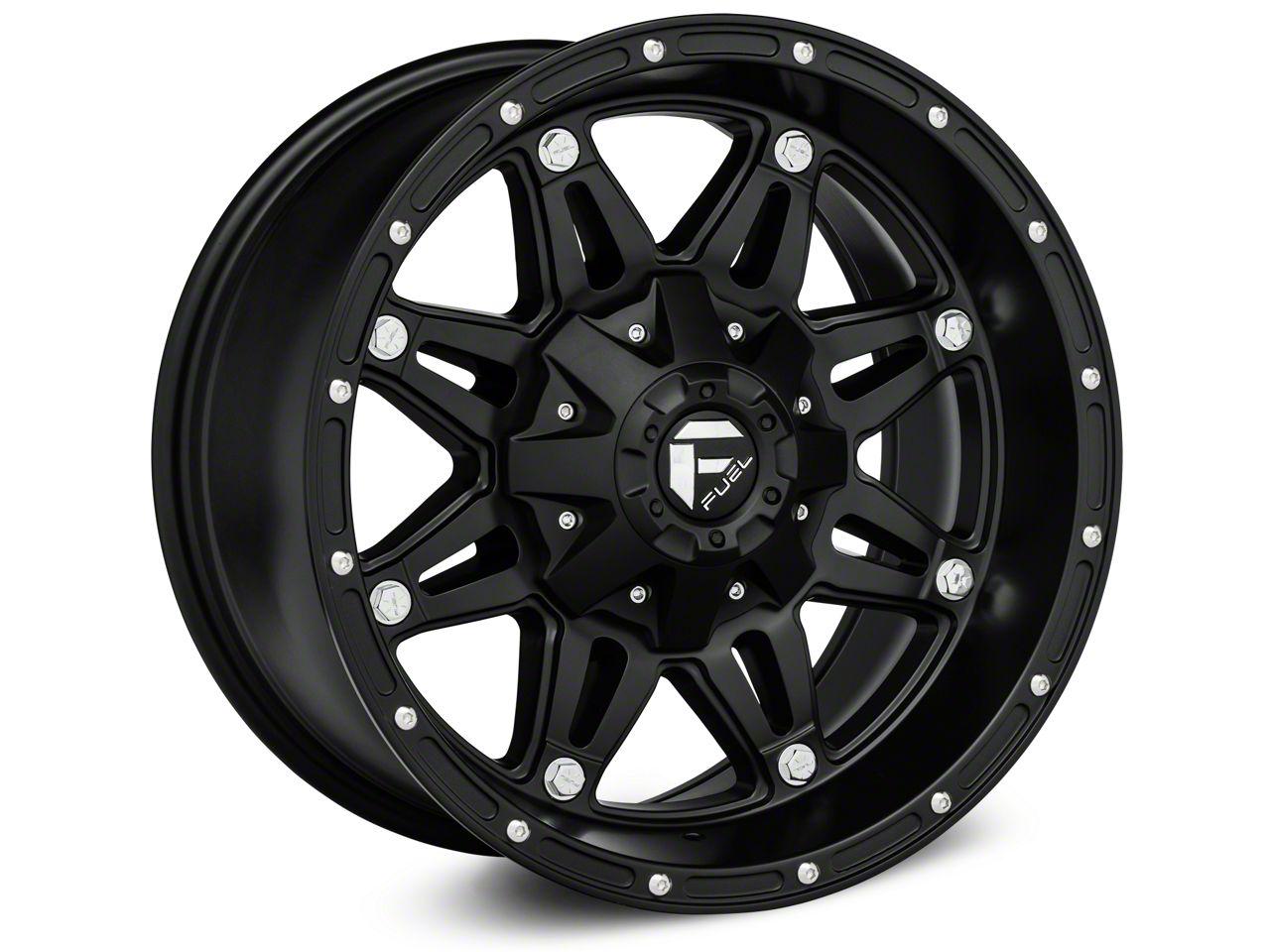 Fuel Wheels Hostage Matte Black Wheel - 17x8.5 (18-19 Jeep Wrangler JL)