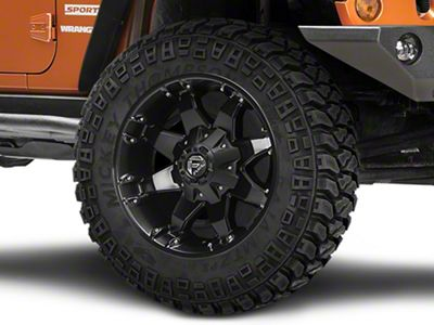 Fuel Wheels Octane Matte Black Wheel - 20x9 (07-18 Jeep Wrangler JK)