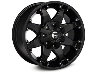 Fuel Wheels Octane Matte Black Wheel - 20x12 (07-18 Jeep Wrangler JK)