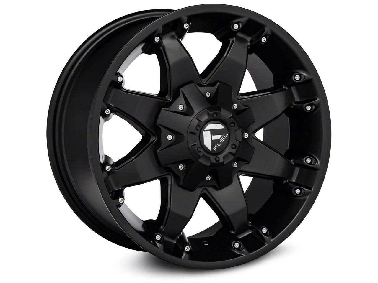 Fuel Wheels Octane Matte Black Wheel - 20x9 (18-19 Jeep Wrangler JL)
