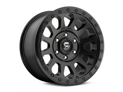 Fuel Wheels Vector Matte Black Wheel - 17x8.5 (07-18 Jeep Wrangler JK)