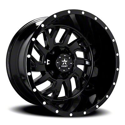 RBP 65R Glock Gloss Black Wheel - 20x10 (07-18 Jeep Wrangler JK)