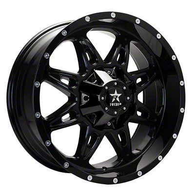 RBP 67R AK-8 Gloss Black Wheel - 20x9 (07-18 Jeep Wrangler JK)