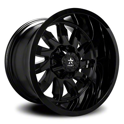 RBP 74R Silencer Gloss Black Wheel - 20x10 (07-18 Jeep Wrangler JK)
