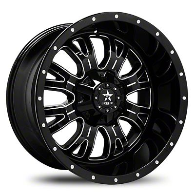 RBP 89R Assassin Gloss Black w/ Machined Grooves Wheel - 20x9 (07-18 Jeep Wrangler JK)