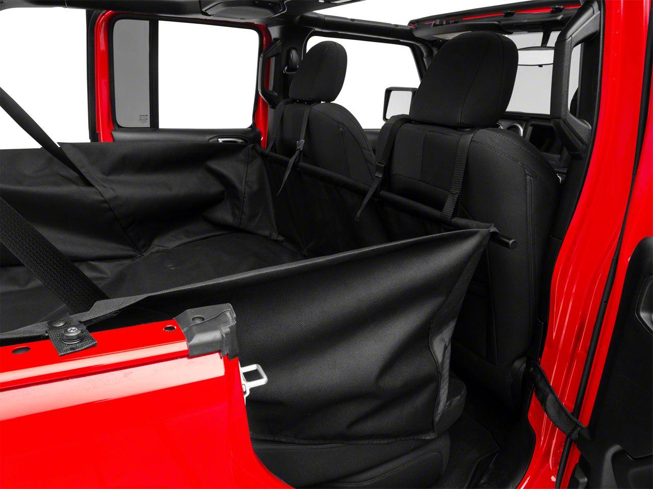 Dirty Dog 4x4 Cargo Liner - Black (2018 Jeep Wrangler JL 4 Door)