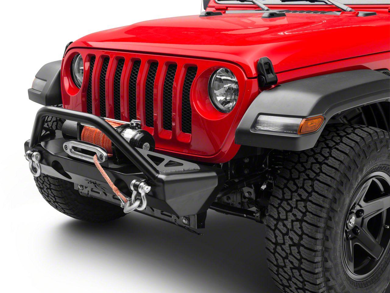 Poison Spyder Crawler Front Bumper - SpyderShell Armor Coat (2018 Jeep Wrangler JL)