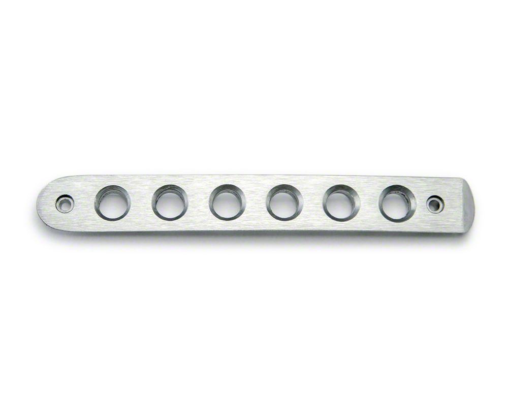 Drake Off Road Door Handle Inserts - Aluminum (07-18 Jeep Wrangler JK 4 Door)