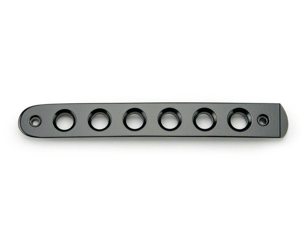 Drake Off Road Door Handle Inserts - Black (07-18 Jeep Wrangler JK 2 Door)