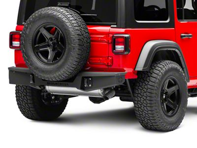 Iron Cross Stubby Rear Bumper (18-19 Jeep Wrangler JL)