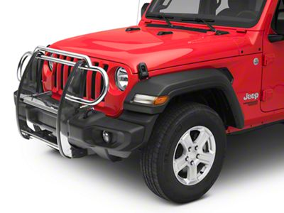 RedRock 4x4 Grille Guard - Stainless Steel (2018 Jeep Wrangler JL)