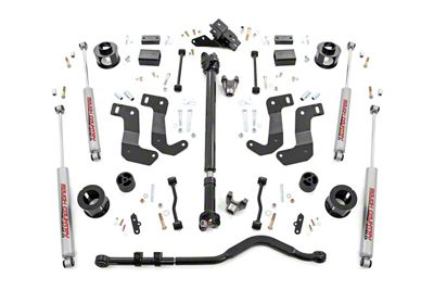 Rough Country 3.5 in. Suspension Lift Kit - Stage 2 (18-19 Jeep Wrangler JL, Excluding Rubicon)