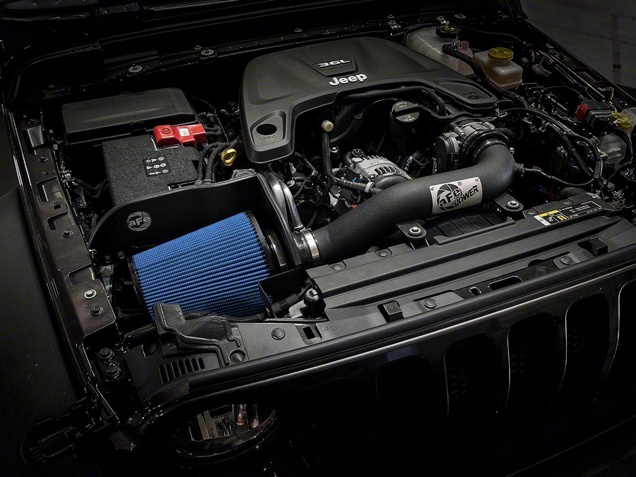 AFE Magnum FORCE Stage 2 XP Pro 5R Cold Air Intake - Black (18-19 3.6L Jeep Wrangler JL)