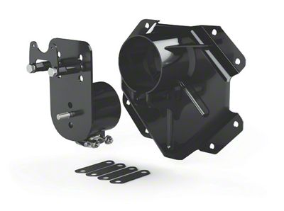 Teraflex Alpha HD Adjustable Spare Tire Mounting Kit - 8x6.5 in. (07-18 Jeep Wrangler JK)