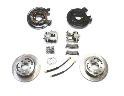 Teraflex Rear Disc Brake Conversion Kit (87-90 Jeep Wrangler YJ)