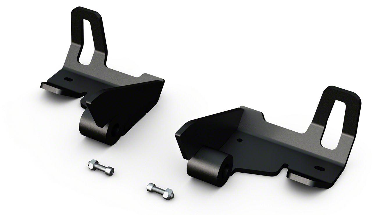 Teraflex Falcon Bolt-On Rear Shock Skid Plate Kit (07-18 Jeep Wrangler JK)