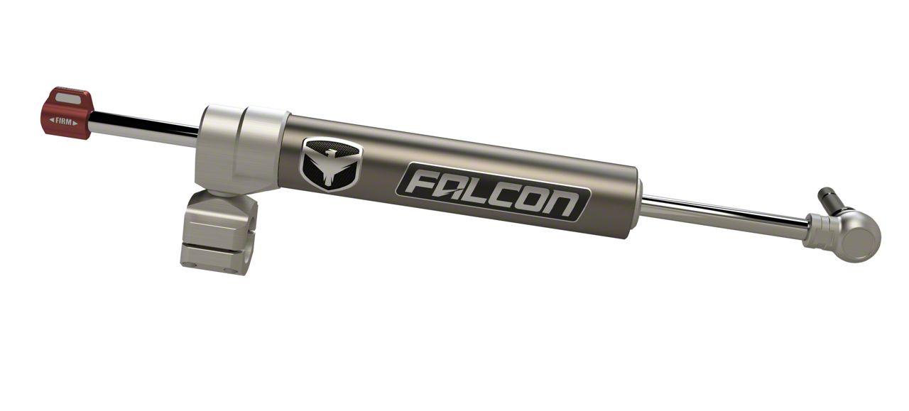 Teraflex Falcon Nexus EF 2.2 Adjustable Steering Stabilizer - Stock 1-3/8 in. Tie Rod - Right Hand Drive (07-18 Jeep Wrangler JK)