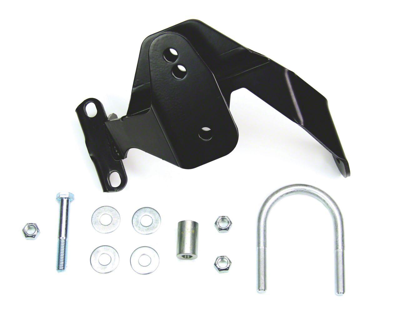 Teraflex Rear Track Bar Axle Bracket for 2.5 in. Lift - Right Hand Drive (07-18 Jeep Wrangler JK)