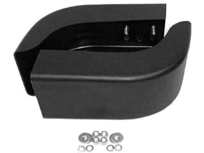 Omix-ADA Front Bumper End Caps Pair (87-95 Jeep Wrangler YJ)