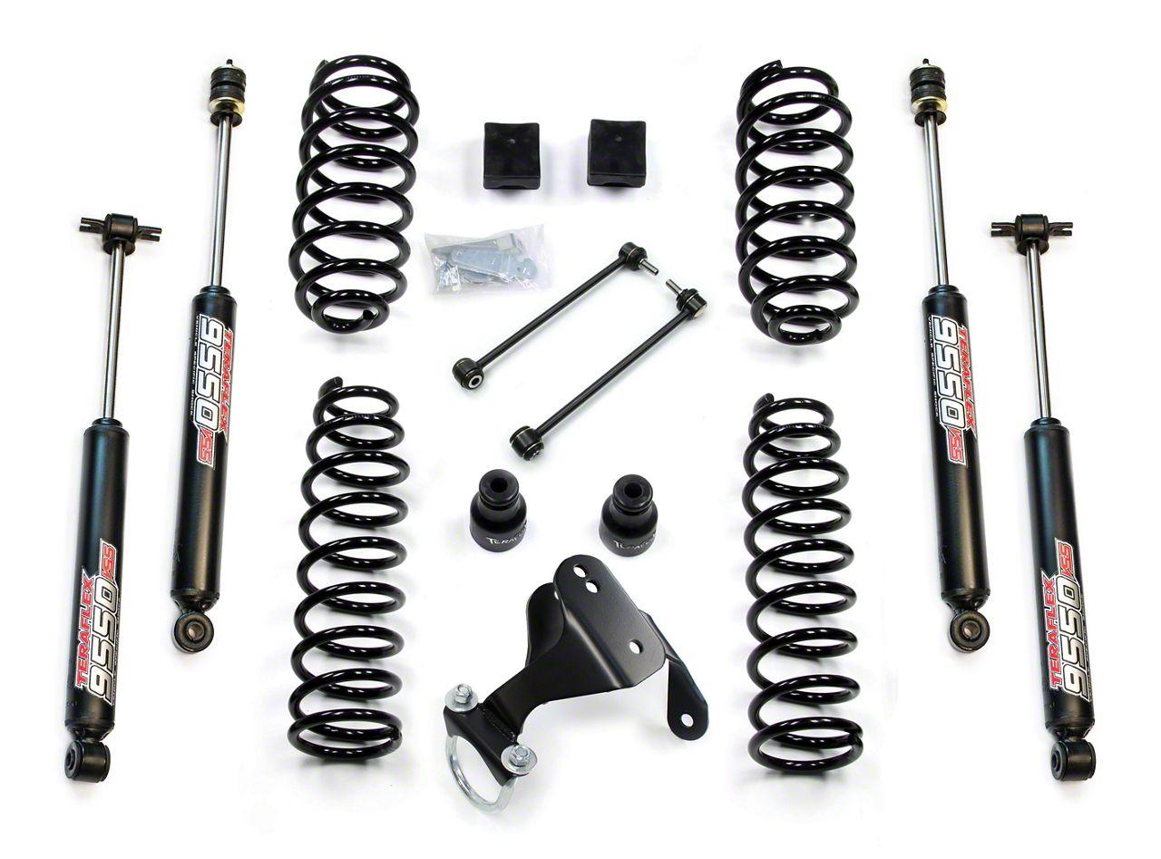 Teraflex 2.5 in. Lift Kit w/ 9550 Shocks - Right Hand Drive (07-18 Jeep Wrangler JK 2 Door)