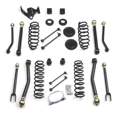 Teraflex 3 in. Lift Kit w/ 8 FlexArms - Right Hand Drive (07-18 Jeep Wrangler JK 2 Door)