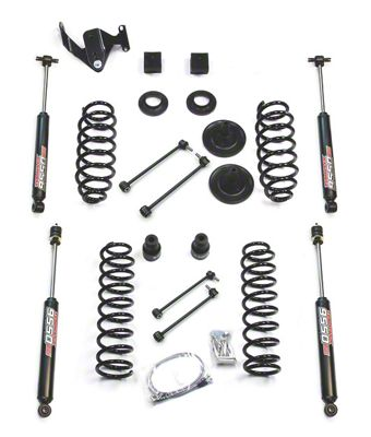 Teraflex 3 in. Lift Kit w/ 9550 Shocks - Right Hand Drive (07-18 Jeep Wrangler JK 4 Door)