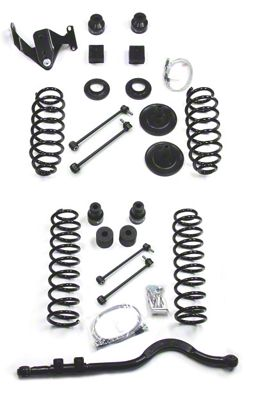 Teraflex 4 in. Lift Kit - Right Hand Drive (07-18 Jeep Wrangler JK 2 Door)