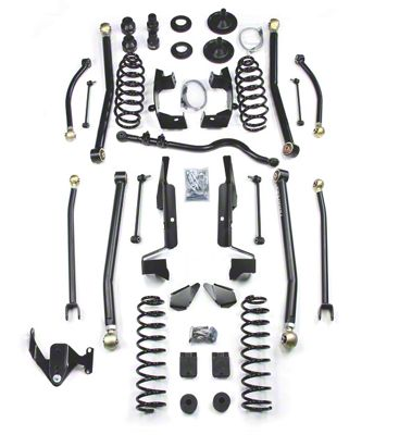 Teraflex 4 in. Elite LCG Long FlexArm Lift Kit - Right Hand Drive (07-18 Jeep Wrangler JK 2 Door)