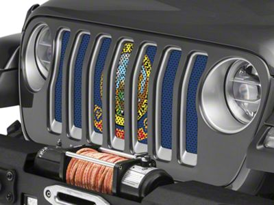 Under the Sun Grille Insert - Idaho State Flag (2018 Jeep Wrangler JL)