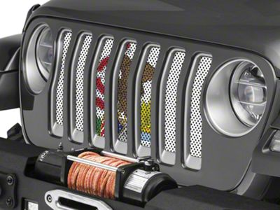 Under the Sun Grille Insert - Illinois State Flag (2018 Jeep Wrangler JL)