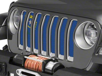 Under the Sun Grille Insert - Nevada State Flag (2018 Jeep Wrangler JL)
