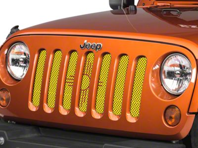 Under the Sun Grille Insert - New Mexico State Flag (07-18 Jeep Wrangler JK)