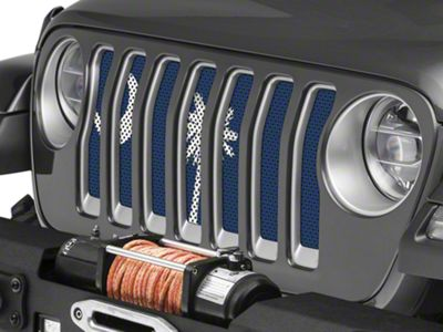Under the Sun Grille Insert - South Carolina State Flag (2018 Jeep Wrangler JL)