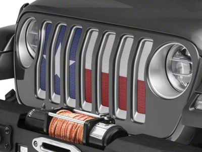 Under the Sun Grille Insert - Always Bigger (2018 Jeep Wrangler JL)