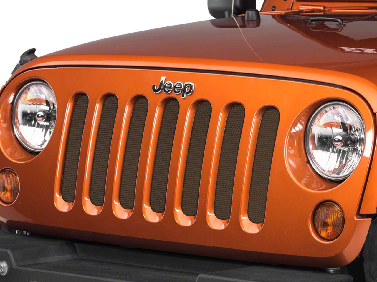 Under the Sun Grille Insert - Bronze Star (07-18 Jeep Wrangler JK)